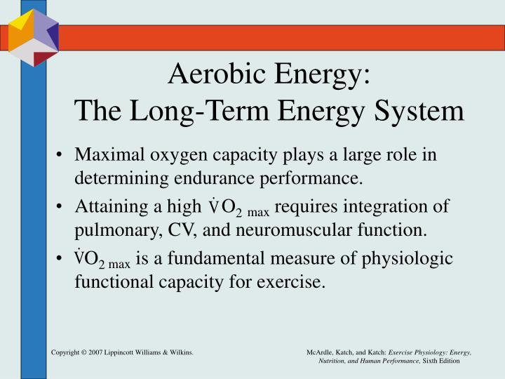 Aerobic Energy: