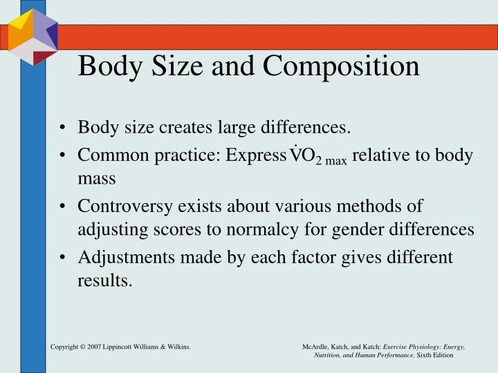 Body Size and Composition