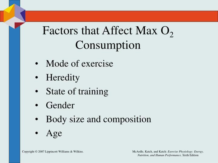 Factors that Affect Max O