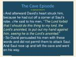 the cave episode 1 samuel 24 3 71