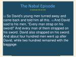 the nabal episode 1 samuel 25 12 13