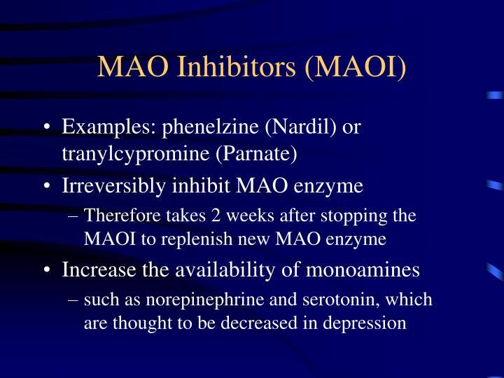 MAO Inhibitors (MAOI)