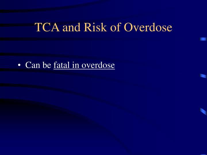 TCA and Risk of Overdose
