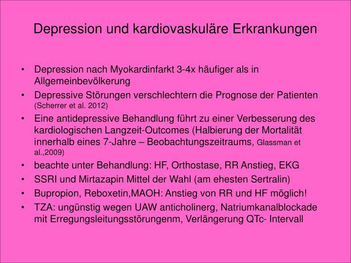 Depression und kardiovaskuläre Erkrankungen
