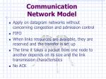 communication network model