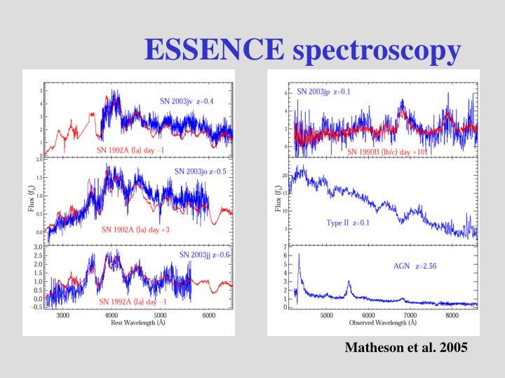 ESSENCE spectroscopy