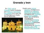 granada y leon