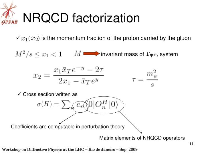 (     ) is the momentum fraction of the proton carried by the gluon