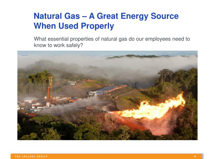 Natural Gas – A Great Energy Source
