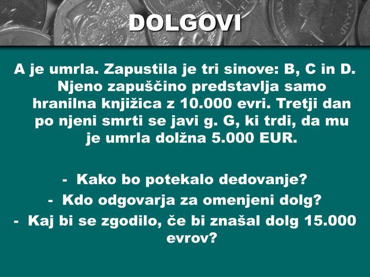 DOLGOVI