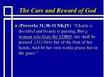 the care and reward of god17