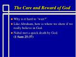 the care and reward of god5