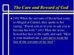 the care and reward of god9
