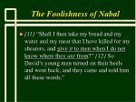 the foolishness of nabal9