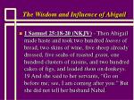 the wisdom and influence of abigail1