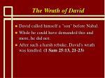 the wrath of david4