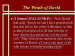 the wrath of david6