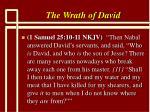 the wrath of david9