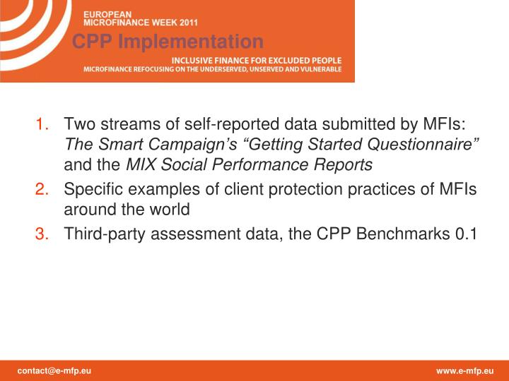 CPP Implementation