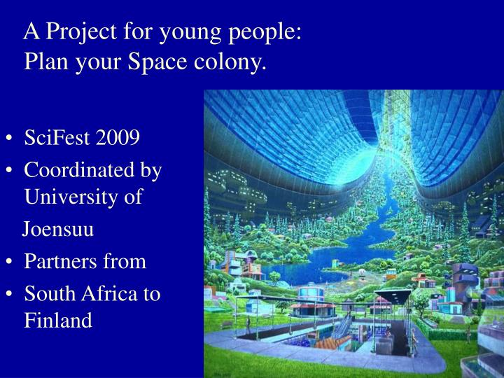 A Project for young people: