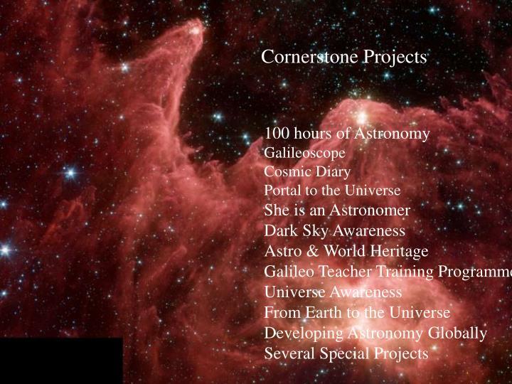 Cornerstone Projects
