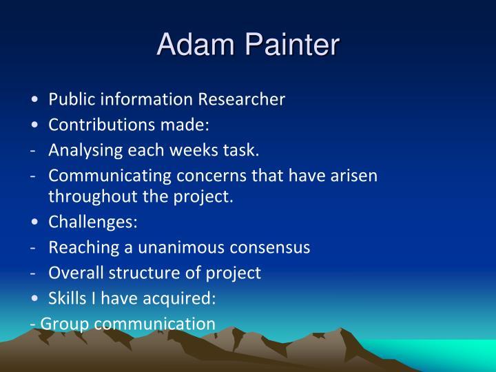 Adam Painter