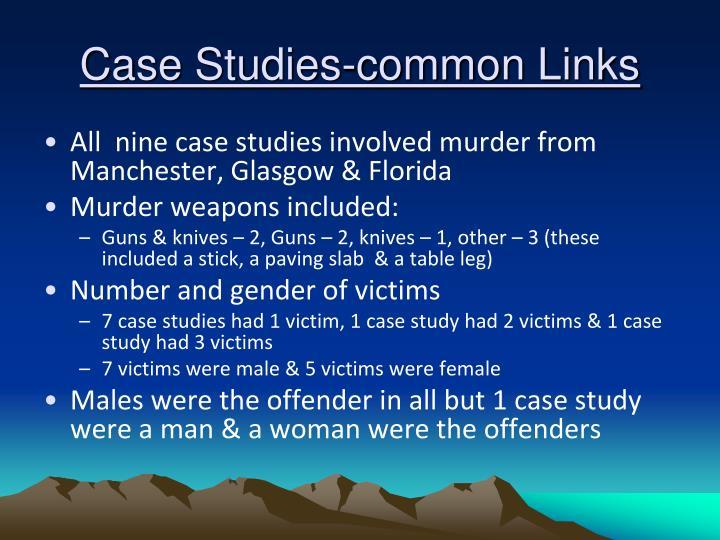 Case Studies-common Links