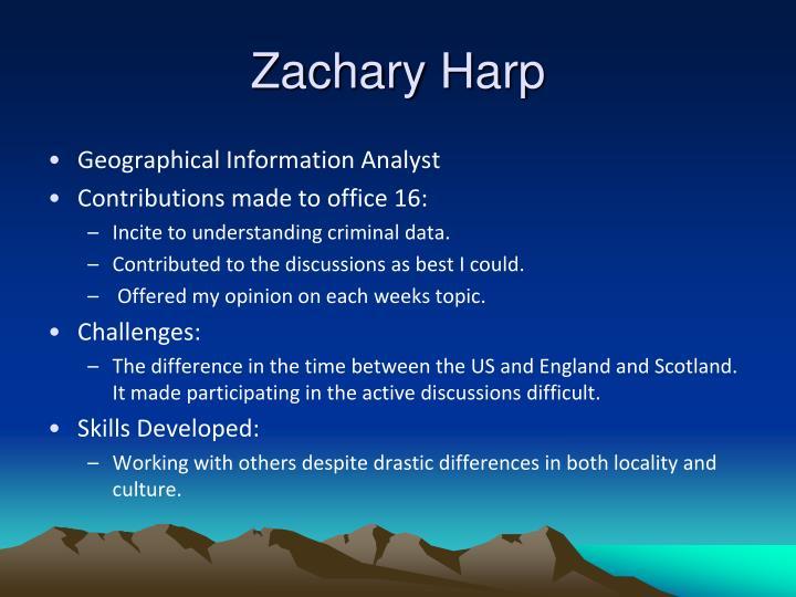 Zachary Harp