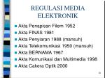 regulasi media elektronik