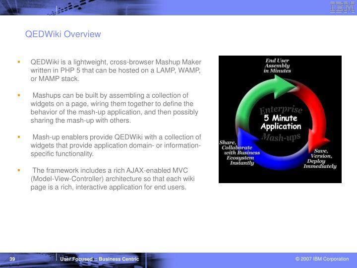 QEDWiki Overview