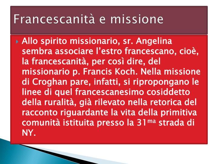 Francescanità