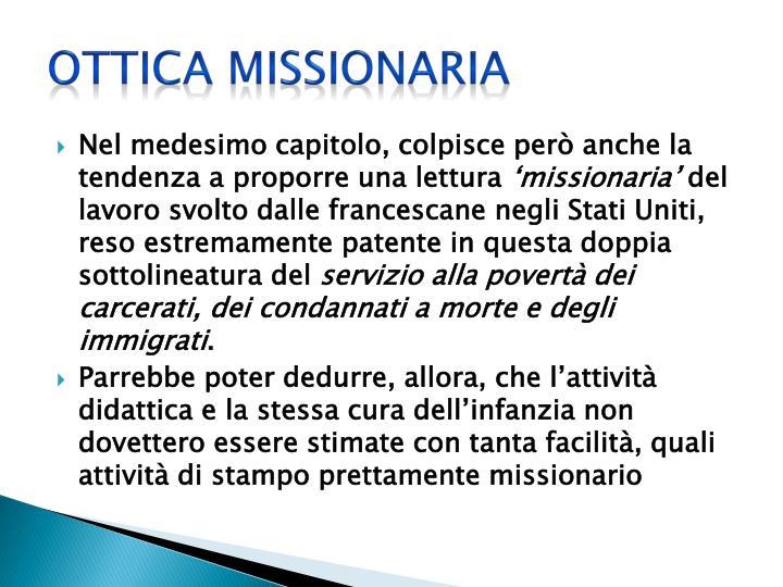Ottica missionaria