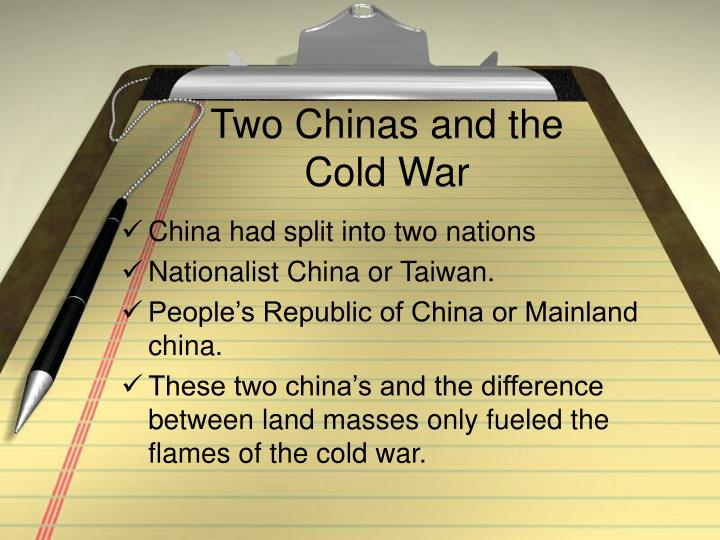 Two Chinas and the Cold War