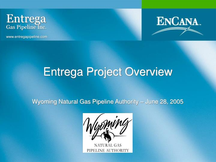 entrega project overview