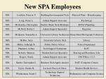 new spa employees2