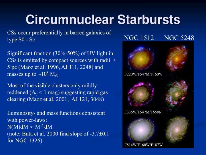Circumnuclear Starbursts