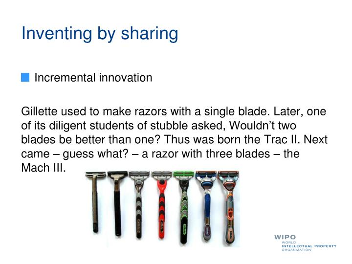 Inventing by sharing