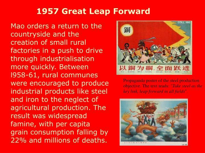1957 Great Leap Forward
