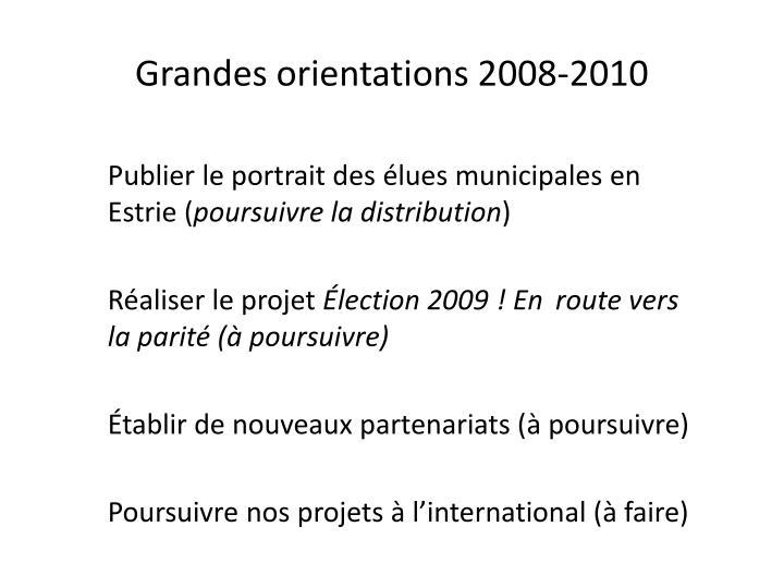 Publier le portrait des élues municipales en Estrie (