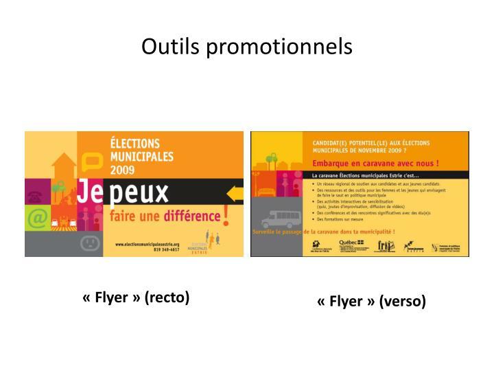 Outils promotionnels1