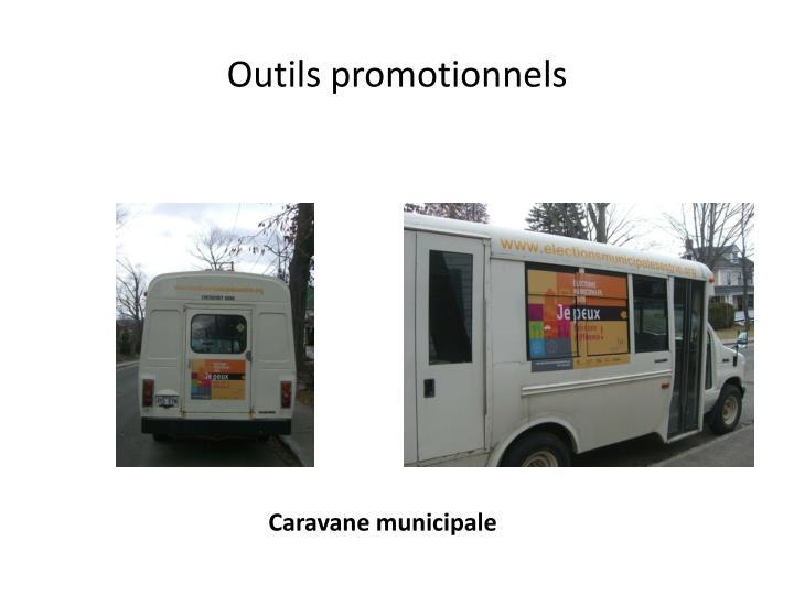 Outils promotionnels