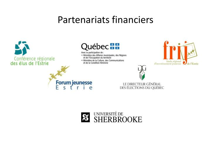 Partenariats financiers