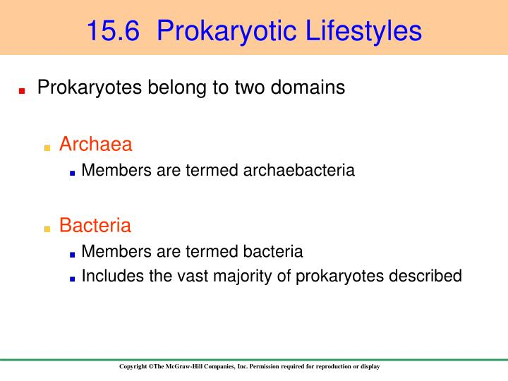 15.6  Prokaryotic Lifestyles
