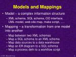 models and mappings