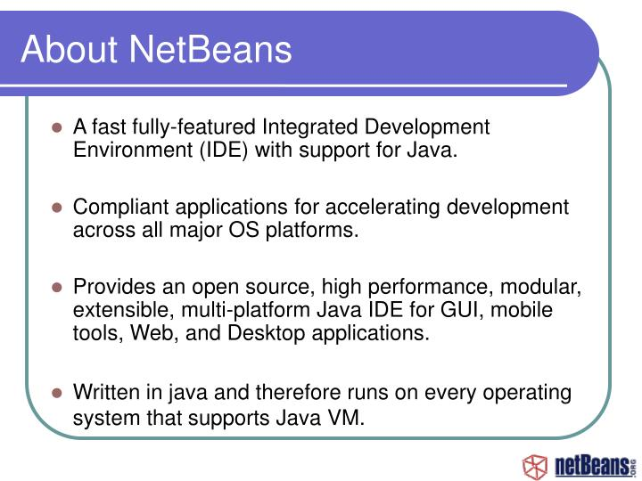 About NetBeans