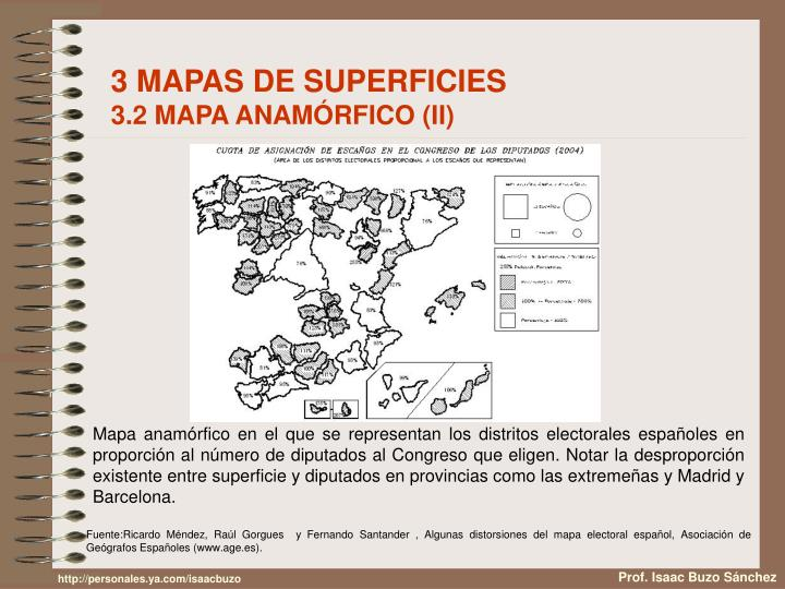 3 MAPAS DE SUPERFICIES