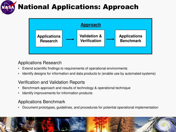 National Applications: Approach