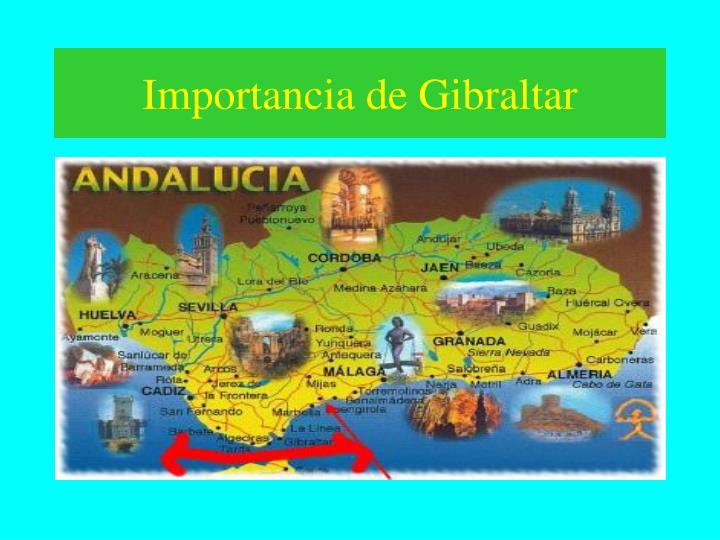 Importancia de Gibraltar