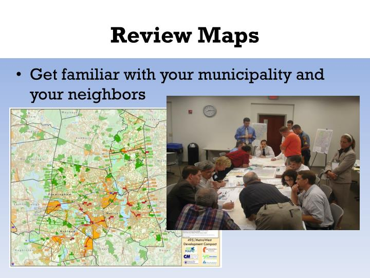 Review Maps