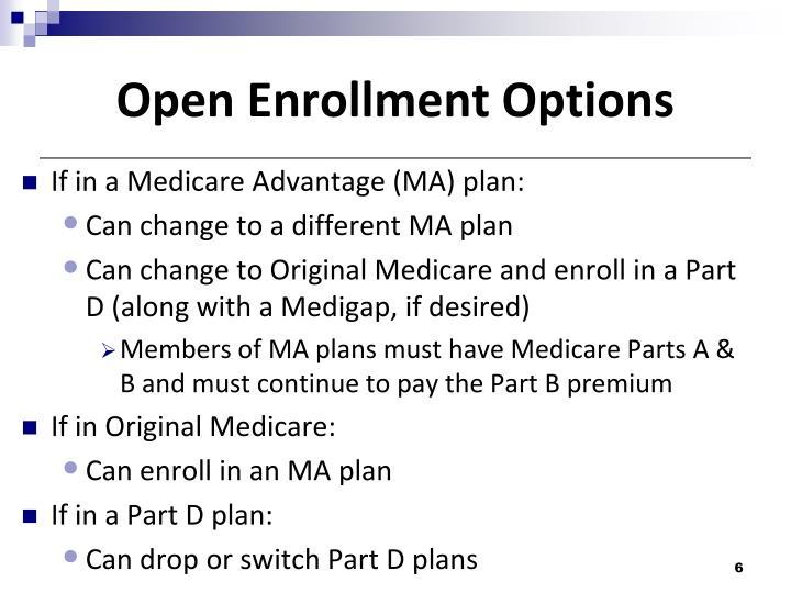 Ppt Medicare Annual Enrollment Important Medicare